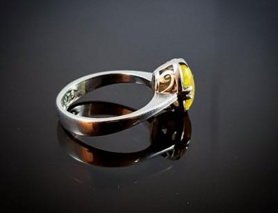 انگشتر زنانه - سنگ اپال