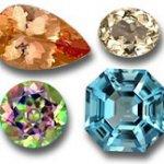 سنگ توپاز topaz اصل سنگ ماه تولد آبان انگشتر توپاز قیمت هر قیراط توپاز هفت رنگ