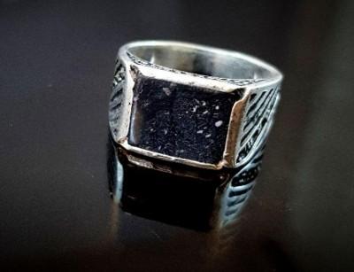 جواهر سنگ مگنا انگشتر نقره مردانه