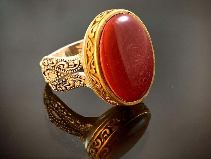 انگشتر نقره سنگ مولتی 111347