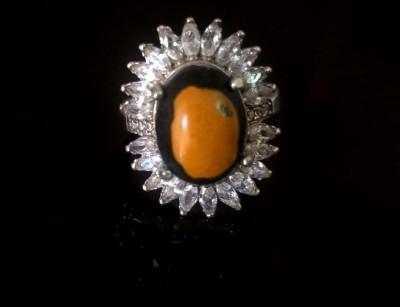 انگشتر نقره سنگ مولتی
