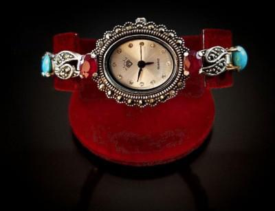 ساعت نقره جواهرات اصل
