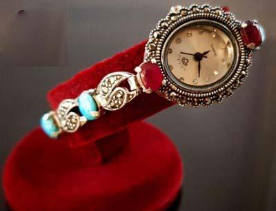 ساعت نقره زنانه و دخترانه